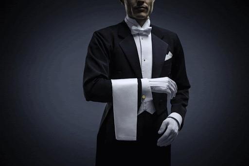 Majordome privé dans les services d'hôtels