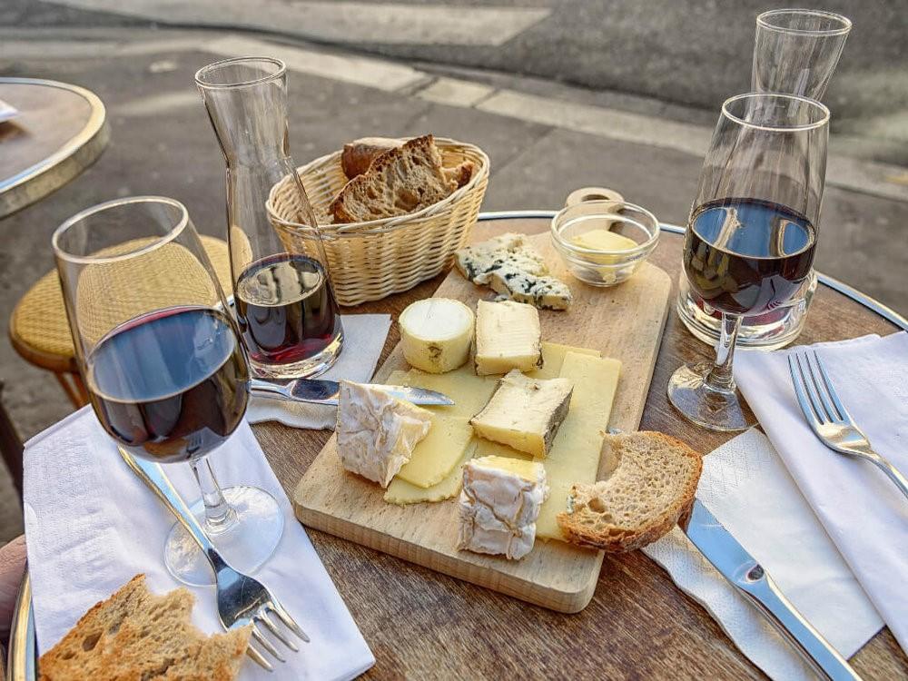 gastronomie vin et frommage