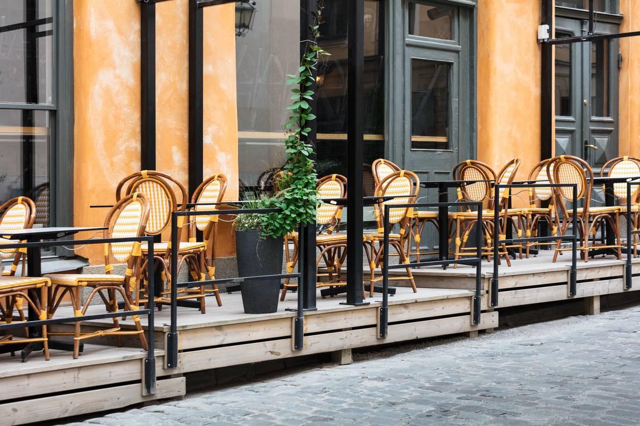mobilier de terrasse réglementations